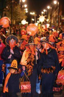 the origin of halloween lies in the celts autumn festival which was held on the first day of the 11th month the month known as november in english but as