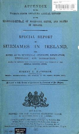 The study of surnames