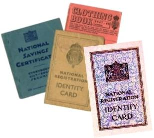 1939 National Registration and Ration Books
