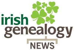 Logo of Irish Genealogy News, a rolling blog of news for those with ancestral connections to Ireland.